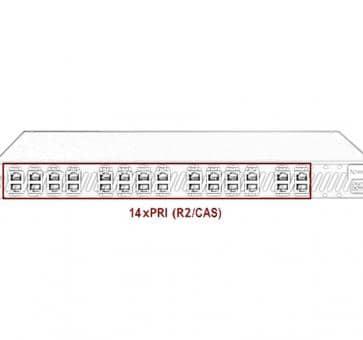 Xorcom Astribank - 14 PRI - XR0114 - 1U
