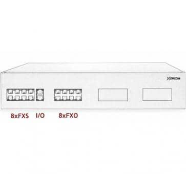 Xorcom IP PBX - 8 FXS + 8 FXO - XR2004