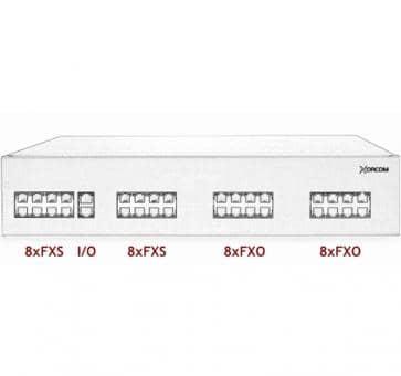 Xorcom IP PBX - 16 FXS + 16 FXO - XR2010
