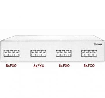 Xorcom IP PBX - 32 FXO - XR2022