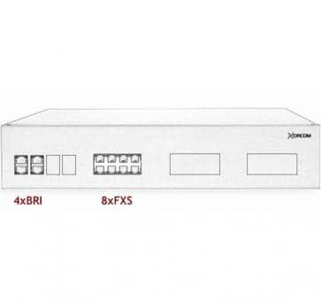 Xorcom IP PBX - 4 BRI + 8 FXS - XR2029