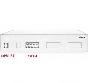 Xorcom IP PBX - 1 PRI + 8 FXO - XR2069