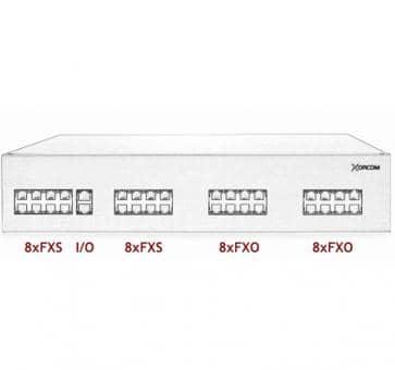 Xorcom IP PBX - 16 FXS + 16 FXO - XR3010