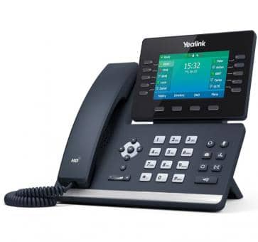 Yealink SIP-T54W SIP IP phone WiFi (without PSU)