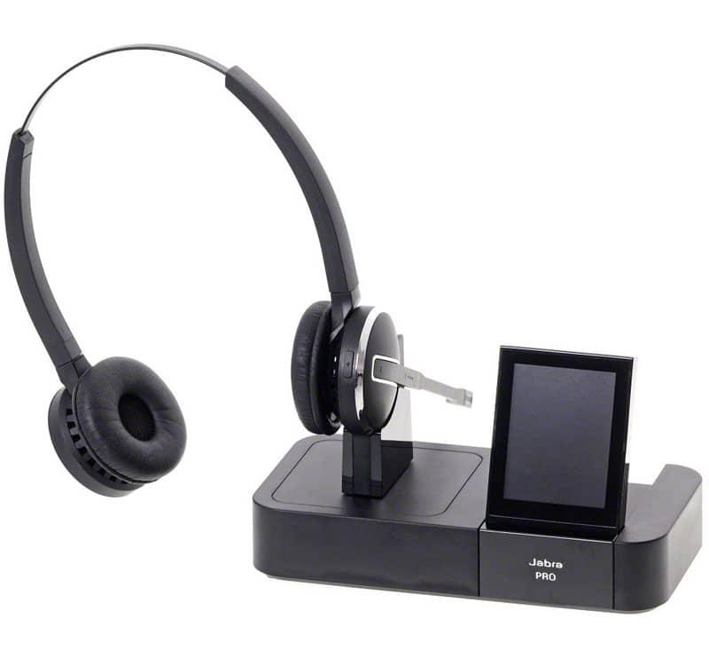 Jabra Pro 9400 Replacement Headset: Jabra PRO 9460 Binaural Flex-boom DECT 1.8GHz Wireless